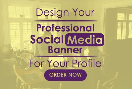 Design Professional Linkedin Banner Or Any Header For You
