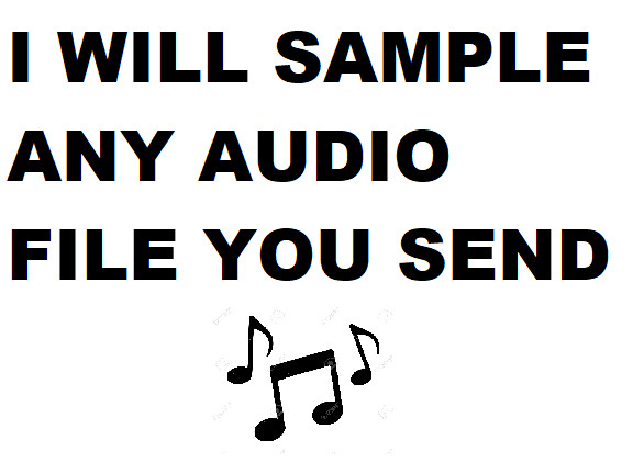 tovvie : I will sample anything onto a hip hop beat for $5 on www fiverr com