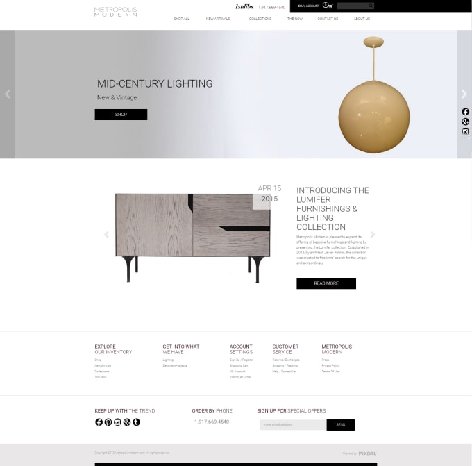 elligense : I will build an ecommerce website using PHP laravel and vuejs  for $995 on www fiverr com