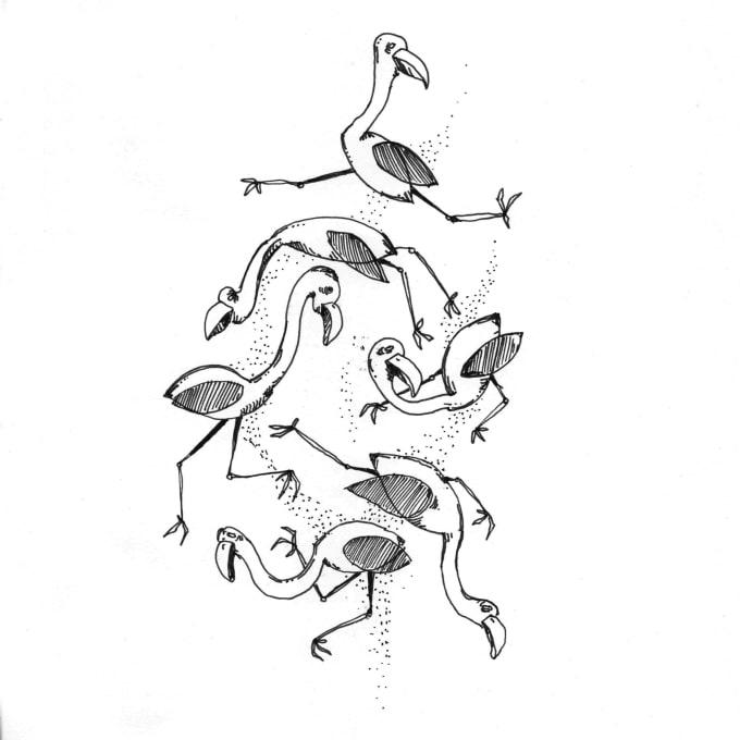 Weird Animals Drawing 11