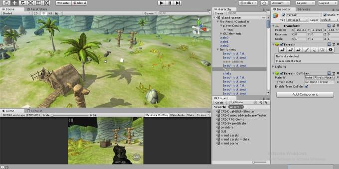 Unity Search Console