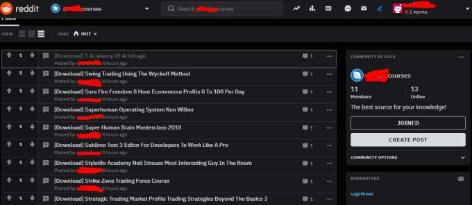 evidencelastino : I will posting ebook download links on your subreddit for  $15 on www fiverr com