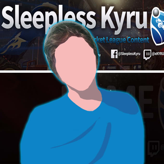 xkyrux : I will make you a blurred cartoon profile picture for $5 on  www fiverr com