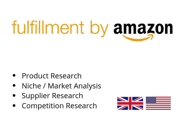 arturasfba : I will do amazon fba product research for private label for  $30 on www fiverr com