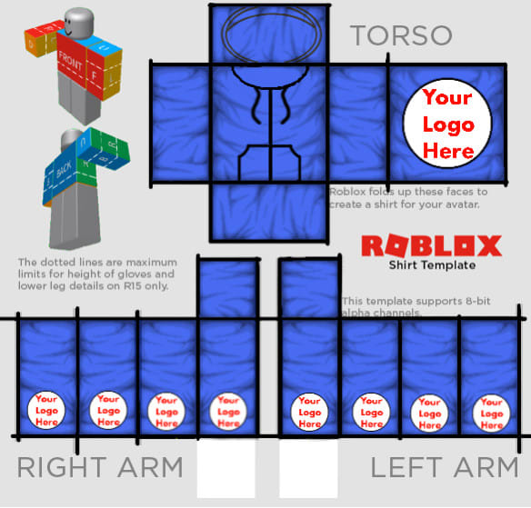 create multiple roblox shirt template for you by roblox guy