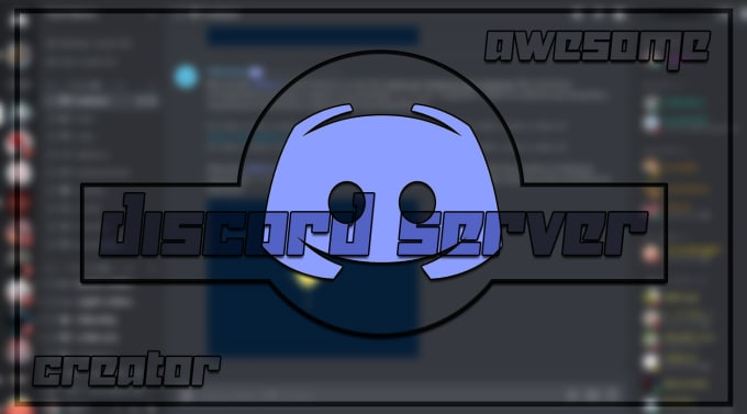 make a discord server with amazing quality, banner and logo