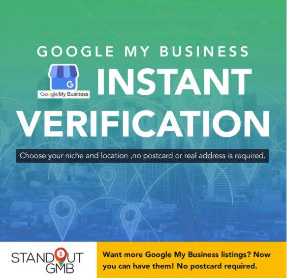 verify your gmb instantly without postcard