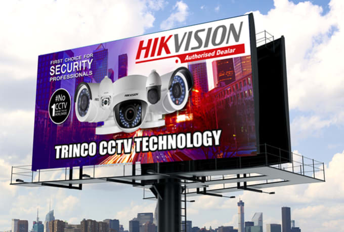 do amazing advertising banners, roll ups, billboards