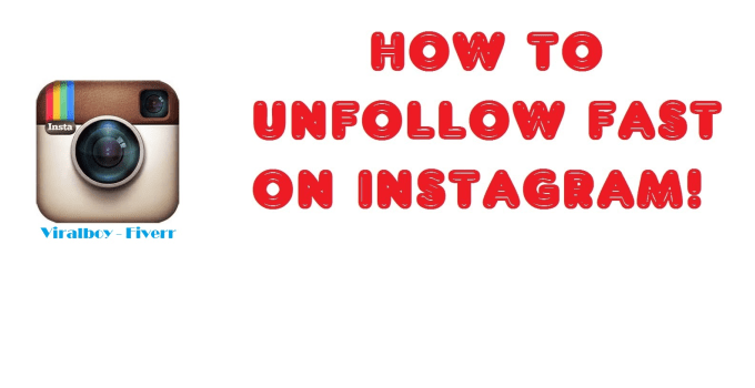 viralboy : I will unfollow 1000 users on instagram for you for $5 on  www fiverr com
