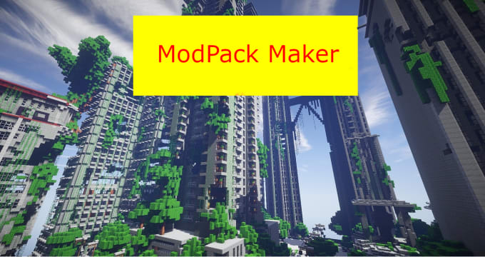 create a custom minecraft modpack for you
