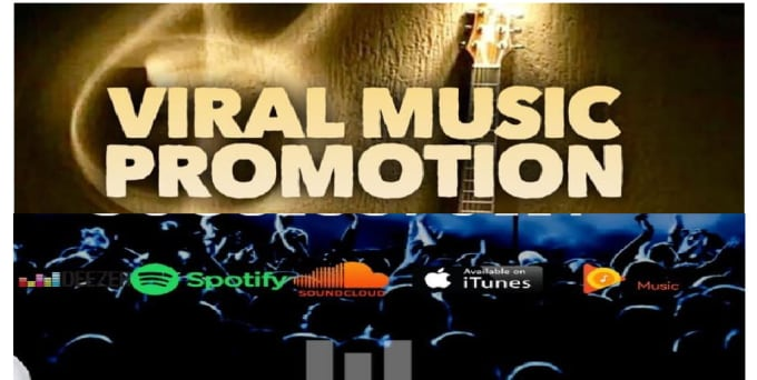 do organic soundcloud, itunes, spotify music promotion