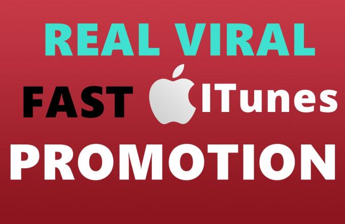 do apple itunes viral promotion apple music public