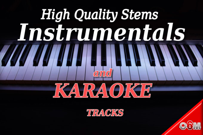 play awesome instrumentals or karaoke of any track genre