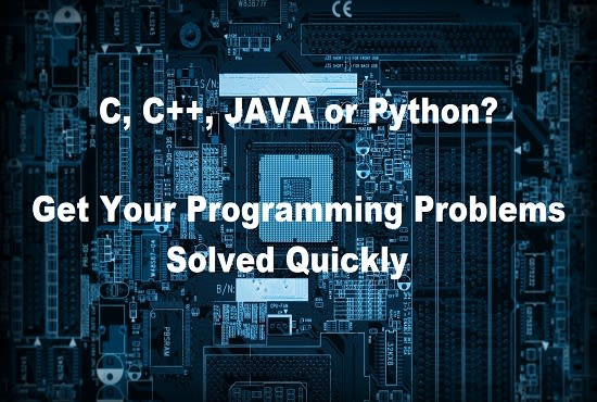 write, edit or enhance c,cpp, java, swift or python projects