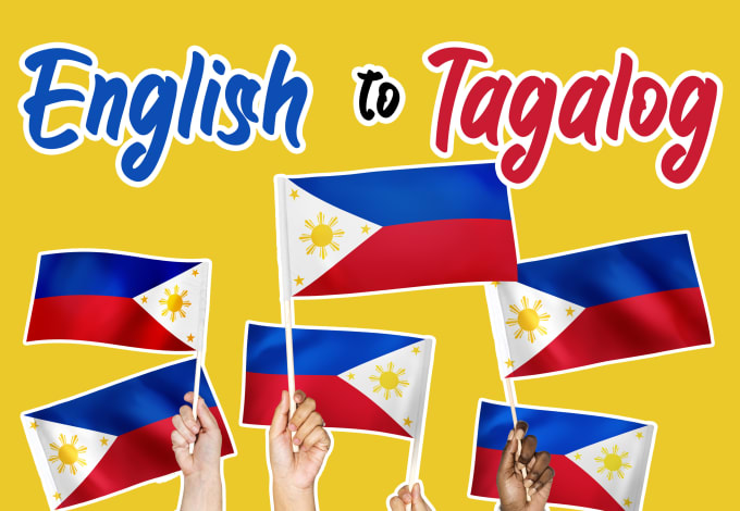 jaymarkdacpano : I will translate english to tagalog or vice versa for $5  on www fiverr com