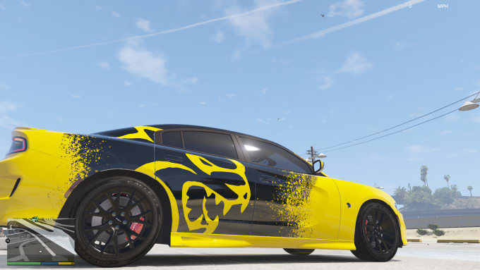 create a vehicle skin for you for gta5 n lspdfr