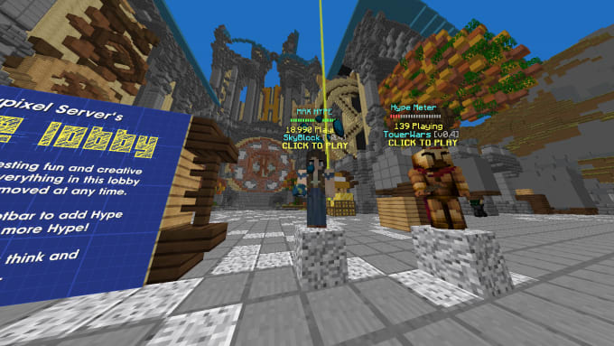 do minecraft hypixel skyblock work for one hour only