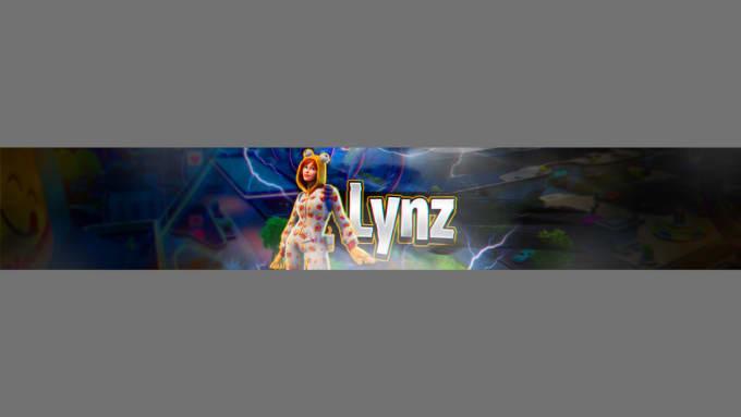 Edit You A Fortnite Cool Youtube Banner By Lynzzzz