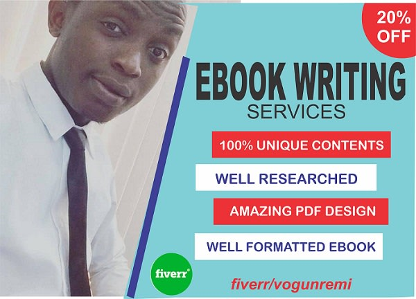 be bestselling ebook writer,ghostwriter,content writer,and do ebook writing