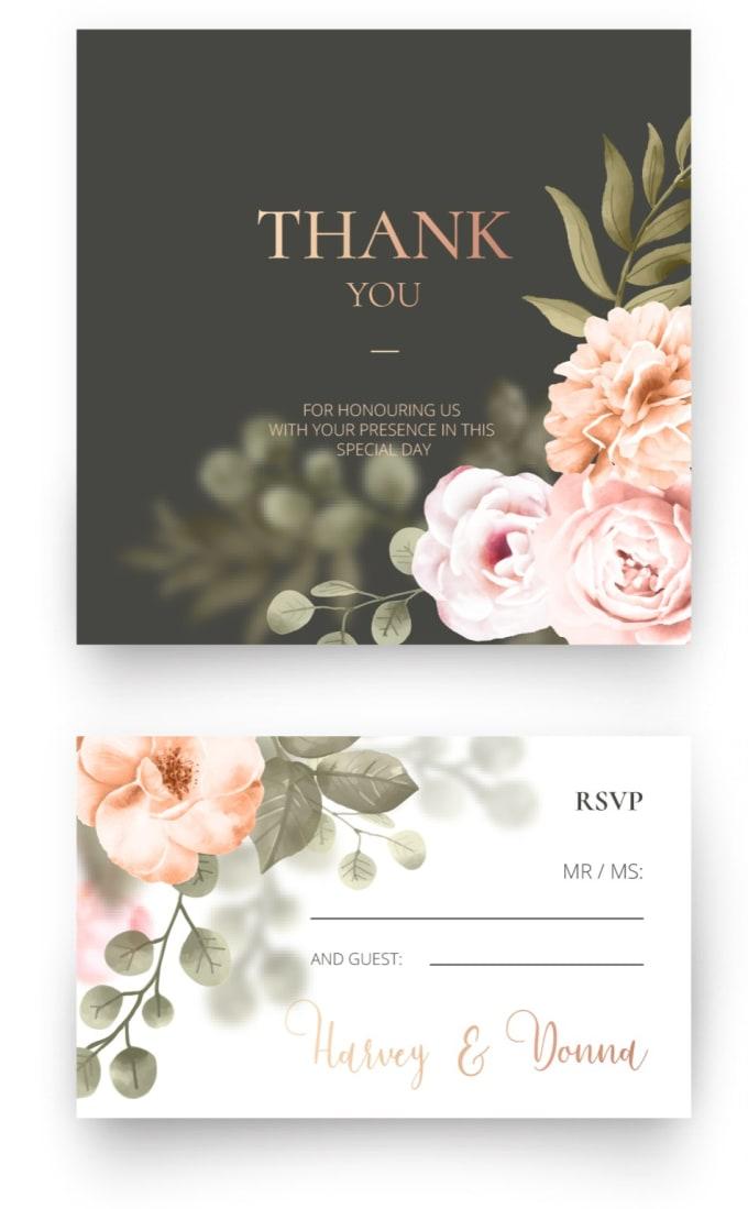 Design Beautiful Wedding Invitation Card