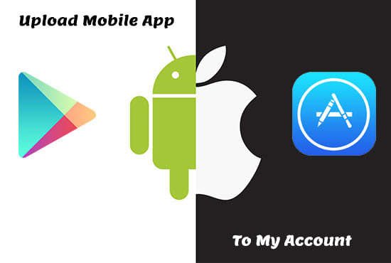 publish your mobile app with my account