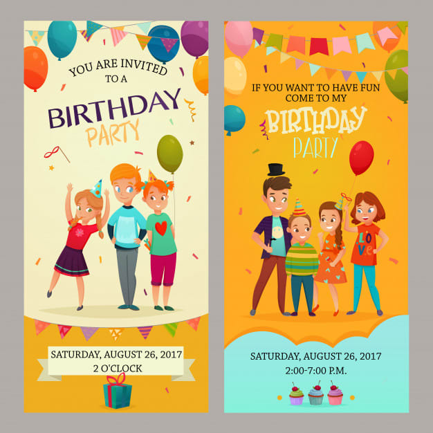 Design Your Birthday Card Or Any Invitation Card
