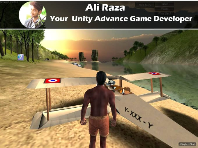 your advance game developer in unity 3d and 2d