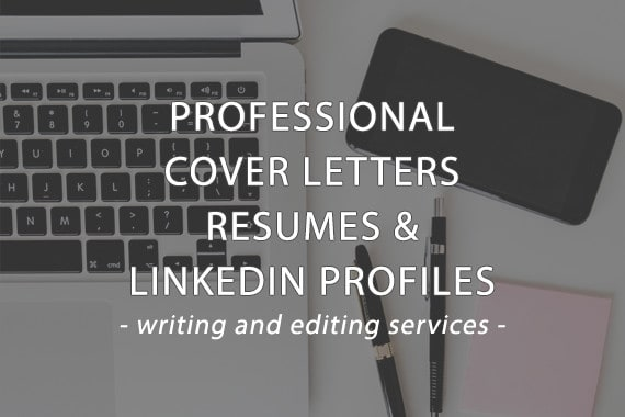 write or revise your resume, cover letter, or linkedin