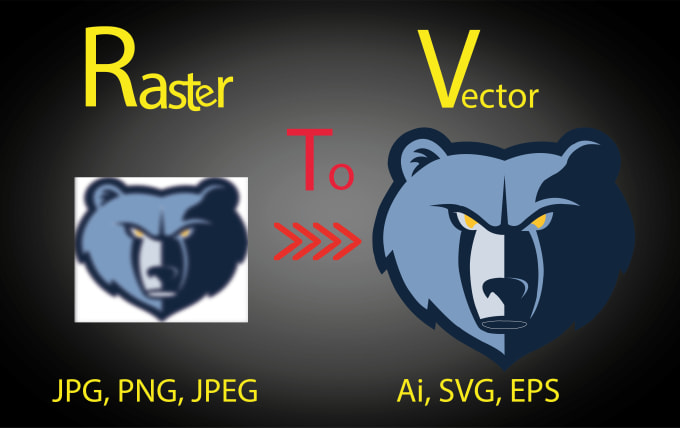 umairarslan : I will convert to vector , vector tracing, logo, graphic to  vector, vectorize for $5 on www fiverr com