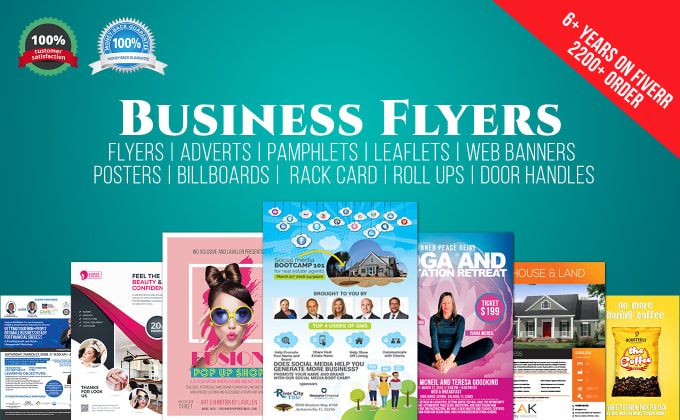 design flyer brochure banner advertise etc