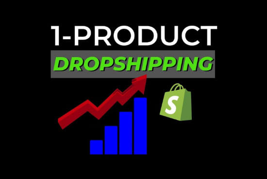create a branded one product shopify dropshipping store