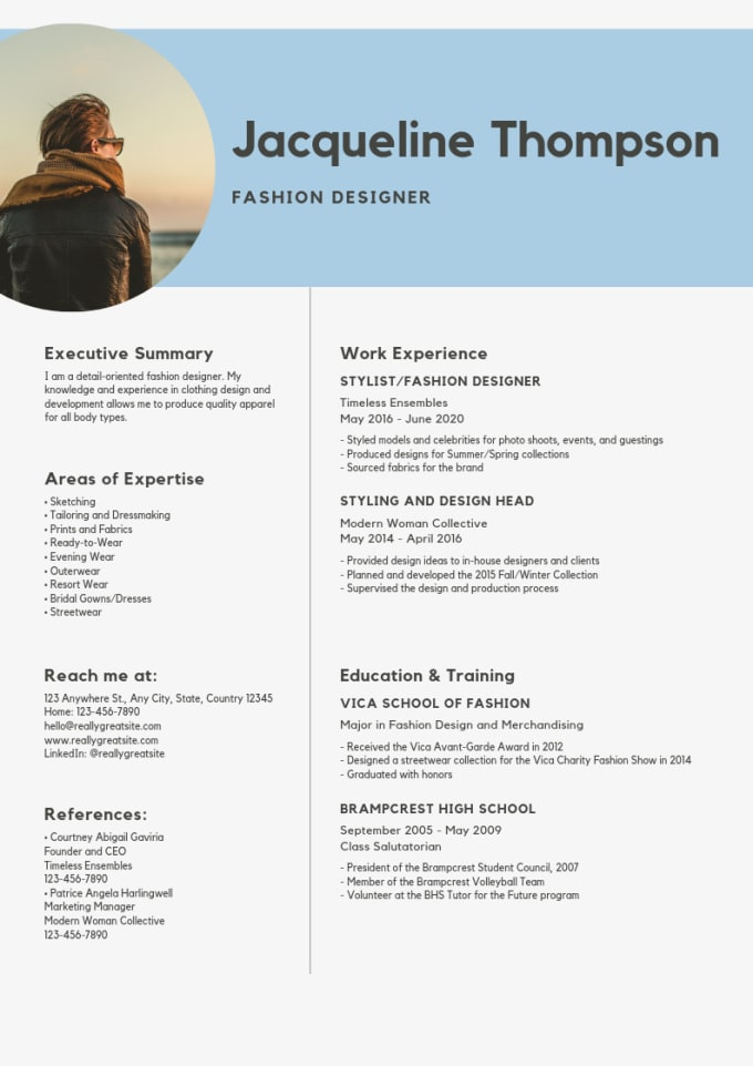 professionally write, design your resume,cv and cover letter