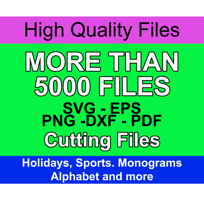 send a huge svg bundle cutting files eps bundle cutting machines files