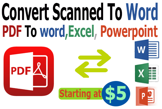 🏷️ Convert scanned image pdf to excel | 2 Simple Ways to