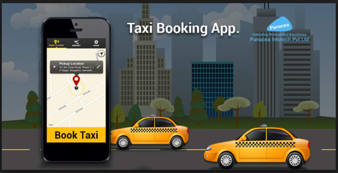 develop and desgin taxi booking app like uber