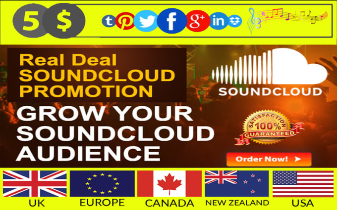 do organic soundcloud promotion for tracks to united states music lovers