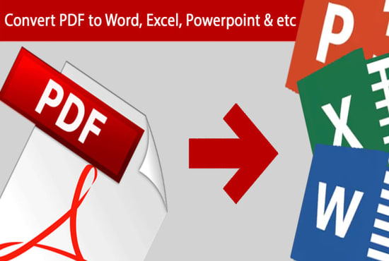 convert PDF to excel or csv