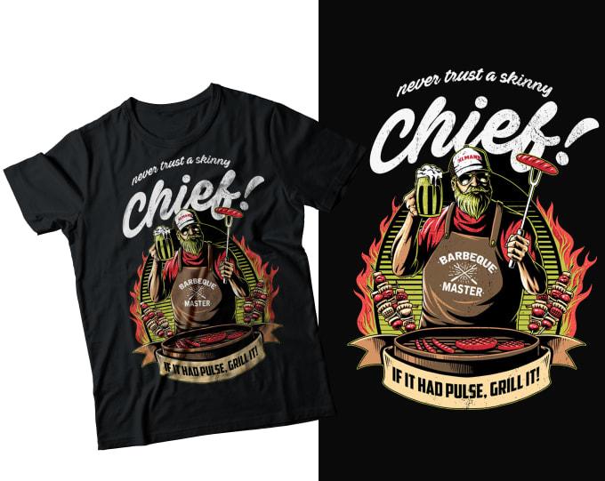 create amazing graphic or custom t shirt design