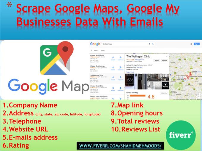 Scrape Data From Google Reviews
