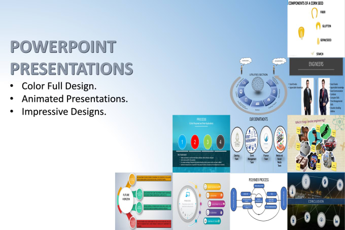 Create An Eye Catching Powerpoint Presentation For You
