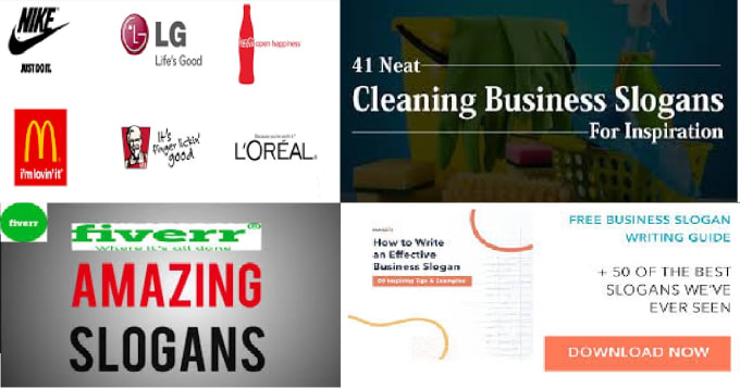 provide business names, slogans and general branding