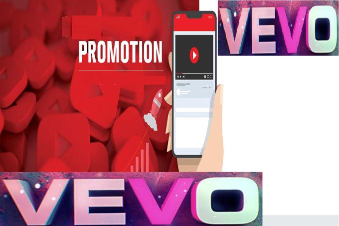 do organic vevo video promotion