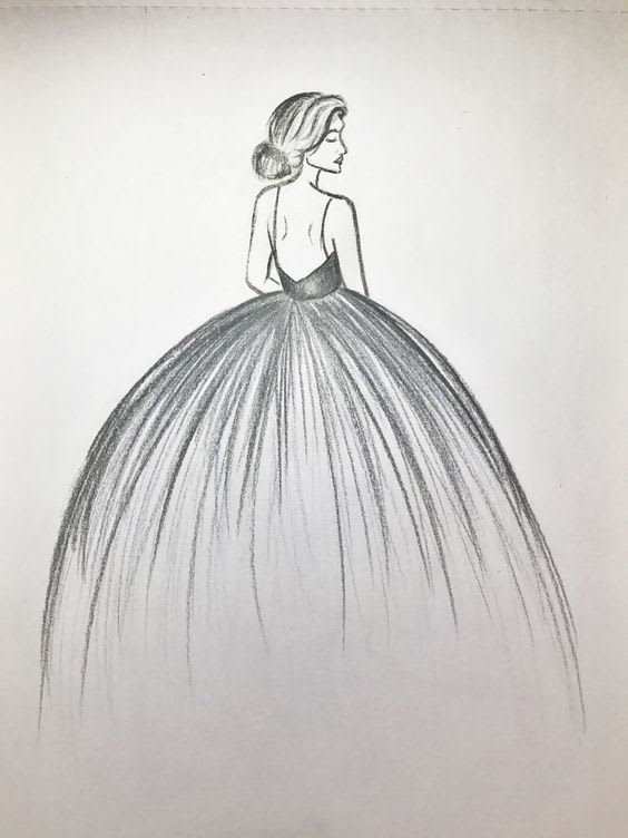 draw any dress design you want
