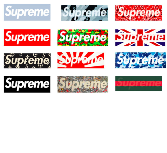 Create Your Custom Supreme Box Logo By Marc_aguilar13