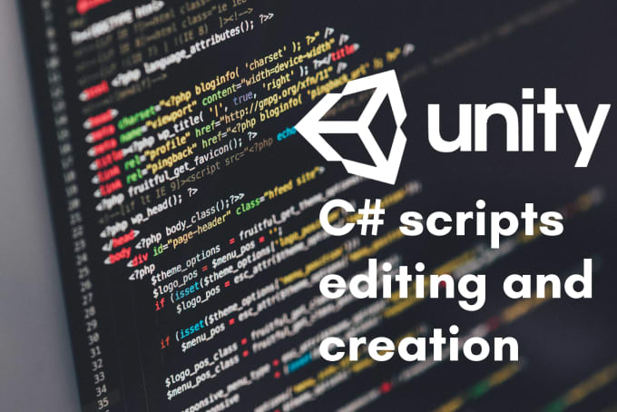 create and or optimize your csharp scripts in unity