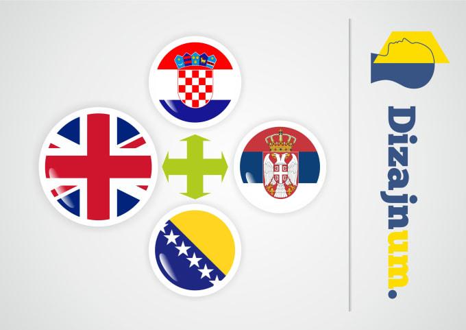 Translate English To Croatian Bosnian Serbian Or Vice Versa