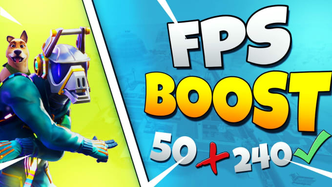 glintfn : I will improve your PC fps in fortnite for $5 on www fiverr com
