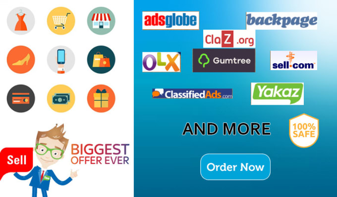 lkmadu : I will post your ads in top classified ads posting site in USA for  $5 on www fiverr com