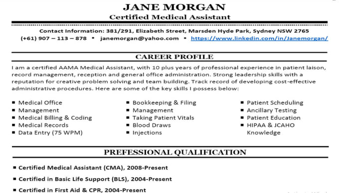 Create An Effective Resume And Cover Letter