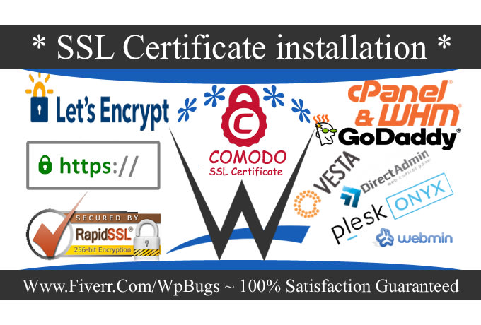 install free SSL certificate letsencrypt in 1 hour